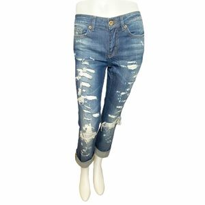 Dolce & Gabbana Highly Distressed Jeans